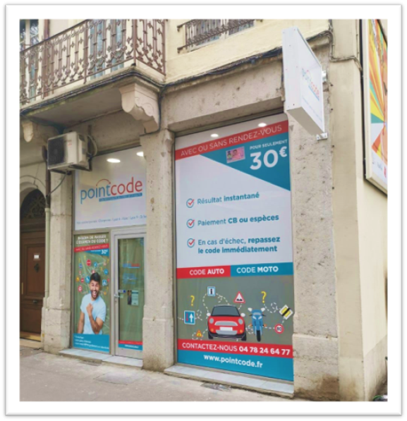 Pointcode Charpennes Lyon 6